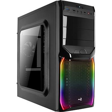 Aerocool V3X RGB Boîtier Moyen Tour avec avec fenêtre et rétroéclairage RGB en façade