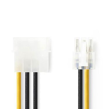 Nedis Adaptateur d'alimentation Molex vers PCI-E 6 Broches