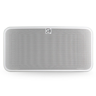 Bluesound PULSE MINI 2i Blanc Système audio multiroom avec Wi-Fi AC, Bluetooth 5.0 aptX HD, compatibilité Hi-Res Audio pour streaming audio et web radio