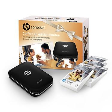HP Sprocket Noir + HP ZINK 90 papiers photos adhésifs