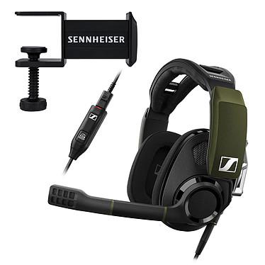 Sennheiser GSP 550 + Sennheiser GSA 50 OFFERT ! Casque-micro circum-auriculaire ouvert pour gamer (PC) + Support pour casque