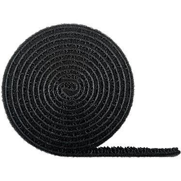 Goobay Bande Scratch noir - 1 m Dispositif de gestion de câbles à bande scratch - 1 m - noire