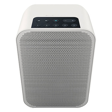 Bluesound Pulse Flex 2i Blanc Système audio multiroom avec Wi-Fi, Bluetooth pour Streaming audio et Web radio compatible Hi-Res Audio / AirPlay 2 / Alexa