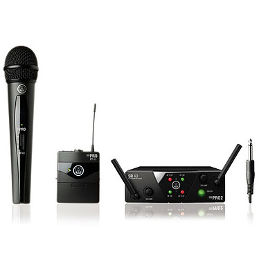 AKG WMS40 Mini Dual Vocal Instrument Set