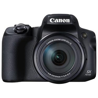 Canon PowerShot SX70 HS Appareil photo bridge 20.3 MP - Zoom optique 65x - Vidéo Ultra HD - Ecran LCD orientable - Wi-Fi/Bluetooth