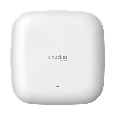 D-Link Nuclias DBA-1210P Point d'accès manageable Dual-Band PoE AC1200 (N300 + AC867) Wave2 avec 1 an de licence inclus + Port Ethernet 10/100/1000 Mbps