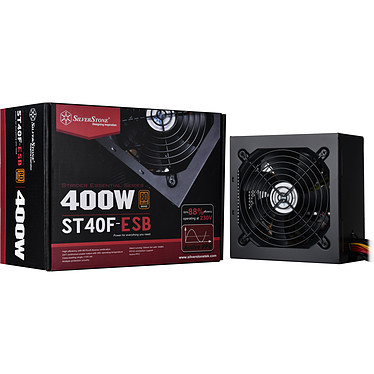 SilverStone Strider Essential ST40F-ESB 80PLUS Bronze
