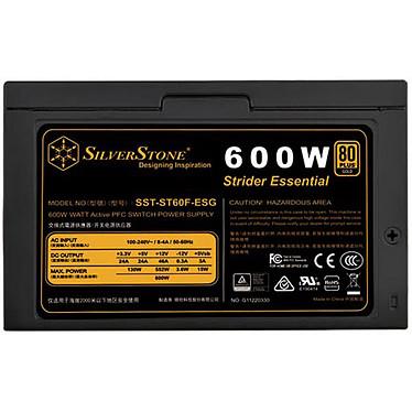 SilverStone Strider Essential ST60F-ESG 80PLUS Gold pas cher