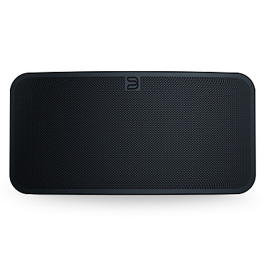Bluesound PULSE 2i Noir Système audio multiroom avec Wi-Fi AC, Bluetooth 5.0 aptX HD, AirPlay 2, compatibilité Hi-Res Audio pour streaming audio et web radio