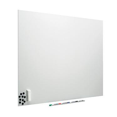 Vanerum e3 Diamant Tableau blanc émaillé 118 x 200 cm Tableau blanc en acier émaillé vitrifié effaçable et magnétique 118 x 200 cm
