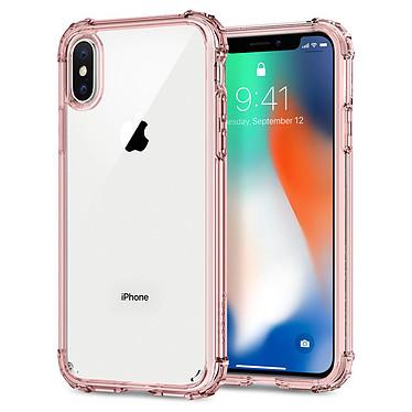 Spigen Case Crystal Shell Rose iPhone X Coque de protection pour Apple iPhone X