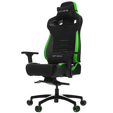 Vertagear Racing PL4500 (vert) Siège en similicuir avec dossier réglable à 140° et accoudoirs 3D pour gamer (jusqu'à 180 kg)