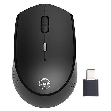 Mobility Lab Wireless USB-C Mouse Ratón inalámbrico Bluetooth - ambidiestro - Sensor óptico de 1600 dpi - 3 botones - Mac y PC