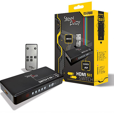 Steelplay HDMI 5-en-1 Switch