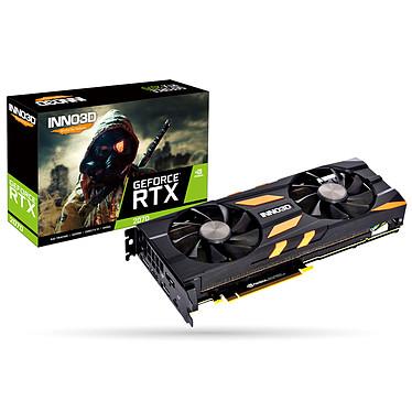 INNO3D GeForce RTX 2070 X2 OC RGB 8 GB GDDR6 - HDMI/Puerto de pantalla de prueba/USB tipo C - PCI Express (NVIDIA GeForce RTX 2070)