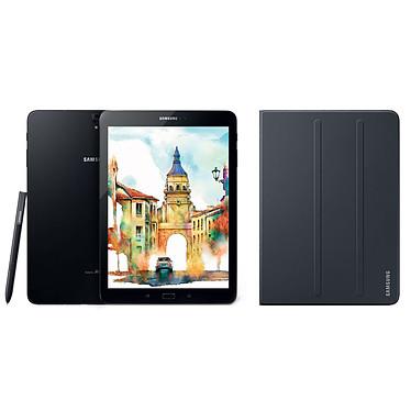 "Samsung Galaxy Tab S3 9.7"" SM-T825 32 Go Noir + Book Cover EF-BT820 Noir"