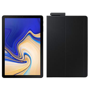 "Samsung Galaxy Tab S4 10.5"" SM-T830 64 Go Noir + Book Cover EF-BT830 Noir Tablette Internet - Snapdragon 835 Octo-Core 2.35 GHz - RAM 4 Go - 64 Go - Écran Super AMOLED 10.5"" - Wi-Fi/Bluetooth - Webcam - 7300 mAh - Android 8.1 + Etui de protection"