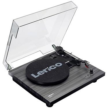 Lenco LS-10 Noir Platine vinyle à 2 vitesses (33-45 trs/min) avec haut-parleurs intégrés et sortie casque
