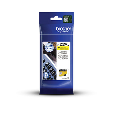 Brother LC3239XLY Cartucho de tinta amarilla de alta capacidad (5000 páginas al 5%)