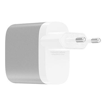 Acheter Belkin Chargeur Secteur Boost Charge USB-C/USB-A (F7U061VF-SLV)