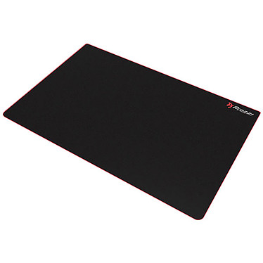 Arozzi Arena Leggero Deskpad (Noir/Rouge) Tapis de souris pour gamer (format étendu)
