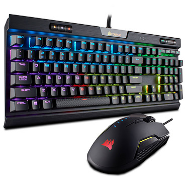 Corsair Gaming K70 RGB MK.2 Low Profile + Gaming Glaive RGB