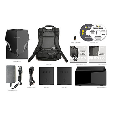 ZOTAC VR GO 2.0 ZBOX-VR7N72 pas cher