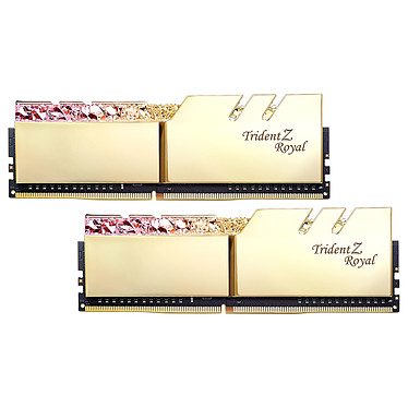 G.Skill Trident Z Royal 16 Go (2x 8 Go) DDR4 3000 MHz CL16 - Or