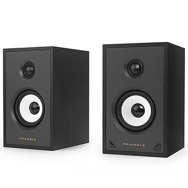 Triangle Sensa SN01A Noir Mat Enceinte sans fil active Bass-Reflex Bluetooth aptX avec pré-amplificateur phono (par paire)
