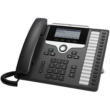 Cisco IP Phone 7861 avec micrologiciel de téléphone multiplateforme Téléphone VoIP 16 lignes PoE avec micrologiciel de téléphone multiplateforme