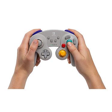 PowerA Nintendo Switch GameCube Wireless Controller Gris   pas cher