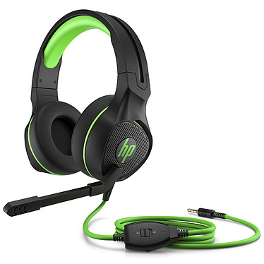 HP Pavilion 400 Casque gaming - Circum-aural - Son stéréo - Microphone réglable - Jack 3.5 mm - Windows 10 / Android / Xbox / iOS / PlayStation