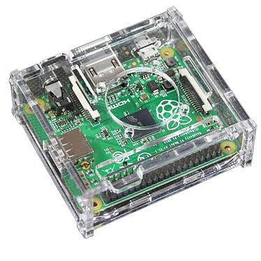 Avis Boitier pour Raspberry Pi 3 A+ avec support Ventilateur (Transparent)