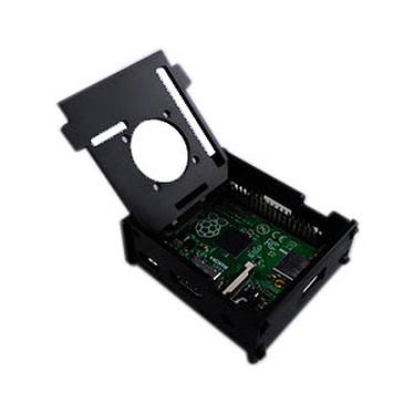 Opiniones sobre Estuche para frambuesa Pi 3 A+ con soporte para ventilador (negro)