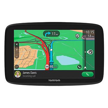 """TomTom GO Essential (6"""") GPS Europe Écran 6"""" - Cartographie et Trafic gratuits à vie - Wi-Fi - Messages smartphone - Apples mains-libres - Compatible Siri et Google Now"""