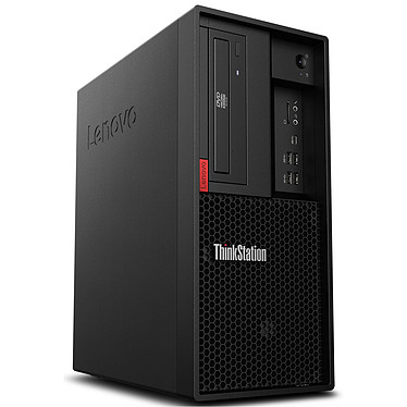 Lenovo ThinkStation P330 (30C5003HFR) Intel Xeon E-2144G 16 Go SSD 256 Go NVIDIA Quadro P1000 4 Go Graveur DVD Windows 10 Professionel 64 bits