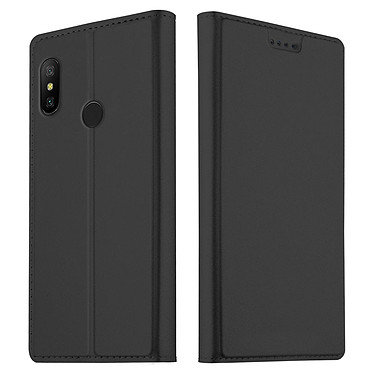 Akashi Folio Cartera Negra Xiaomi Mi Mix 3 Funda folio con tarjetero para Xiaomi Mi Mix 3