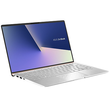 "ASUS Zenbook 14 UX433FA-A5104R Argent Intel Core i5-8265U 8 Go SSD 512 Go 14"" LED Full HD Wi-Fi AC/Bluetooth Webcam Windows 10 Professionnel 64 bits (garantie constructeur 2 ans)"