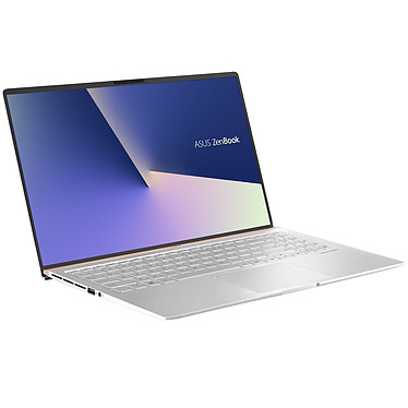"ASUS Zenbook 15 UX533FN-A8079R Argent Intel Core i7-8565U 16 Go SSD 512 Go 15.6"" LED Full HD NVIDIA GeForce MX150 Wi-Fi AC/Bluetooth Webcam Windows 10 Professionnel 64 bits"