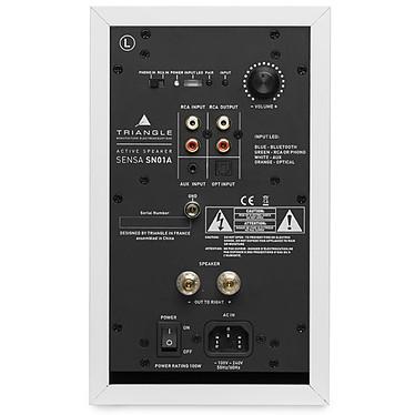 Yamaha MusicCast VINYL 500 Noir + Triangle Sensa SN01A Blanc Mat pas cher