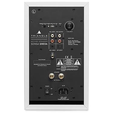 Yamaha MusicCast VINYL 500 Noir + Triangle Sensa SN03A Blanc Mat pas cher