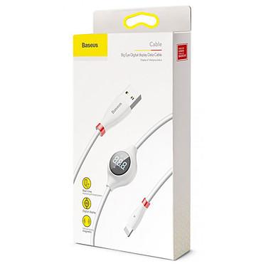 Comprar Baseus Big Eye Digital Lightning Cable Blanco - 1.2 m