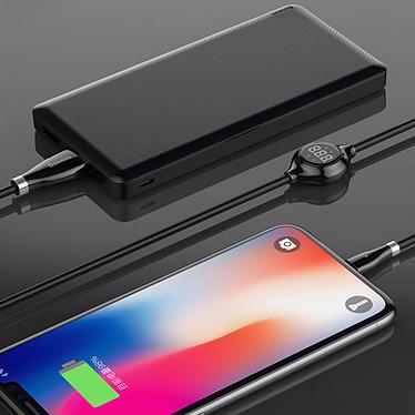Baseus Big Eye Digital Lightning Cable Negro - 1.2 m a bajo precio