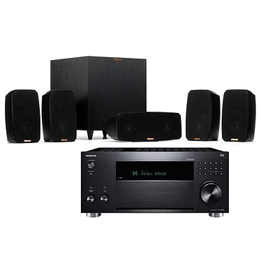 Onkyo TX-RZ830 Noir + Klipsch Reference Theater Pack