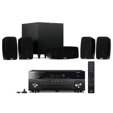 Yamaha RX-A880 Noir + Klipsch Reference Theater Pack