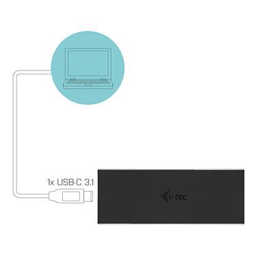 i-tec MySafe USB-C M.2 Drive Metal Noir pas cher