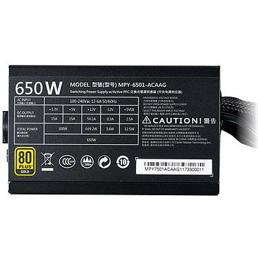 Acheter Cooler Master MWE Gold 650