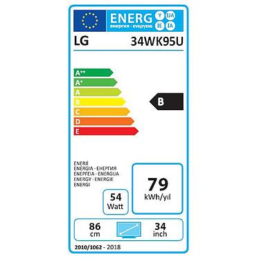 """LG 34"""" LED 34WK95U pas cher"""