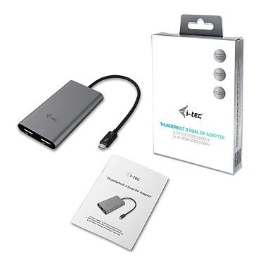 i-tec Adaptador de vídeo Thunderbolt 3 dual DP a bajo precio