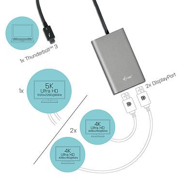 Opiniones sobre i-tec Adaptador de vídeo Thunderbolt 3 dual DP